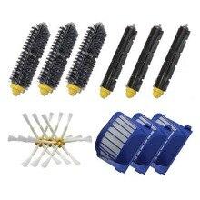 Cepillos de aspiradora Aero vac filtros kit de repuesto para iRobot Roomba 620 630 650 660 680 Aspiradora
