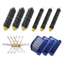 Vacuum Cleaner Brushes Aero vac filters Replacement kit for iRobot Roomba 620 630 650 660 680 Vacuum cleaner(China)