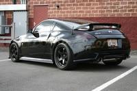 Car Accessories FRP Fiber Glass NI Version 1 Style Rear Spoiler Fit For 2002 2008 350Z Z33 Trunk Spoiler Wing