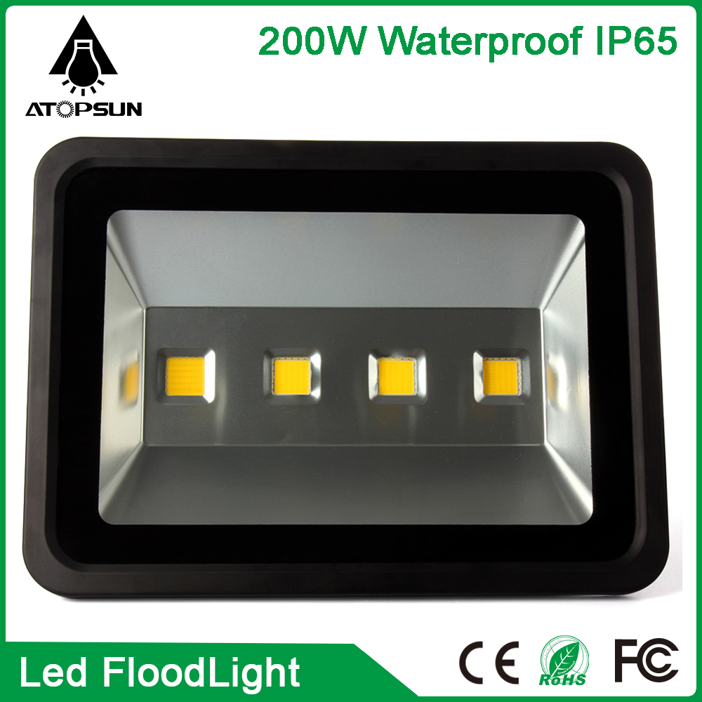 4PCS Waterproof Led Flood Light 200W Outdoor Floodlight Lighting Spotlight Street Lamp Led Outdoor Park Lighting Projector Light led flood light street tunel lighting floodlight ip65 waterproof ac85 265v led spotlight outdoor lighting lamp