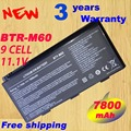 BTY-M6D laptop battery For MSI GT70 GT70PH GT780DXR GT783R GT685R GT663 GT680R batteries