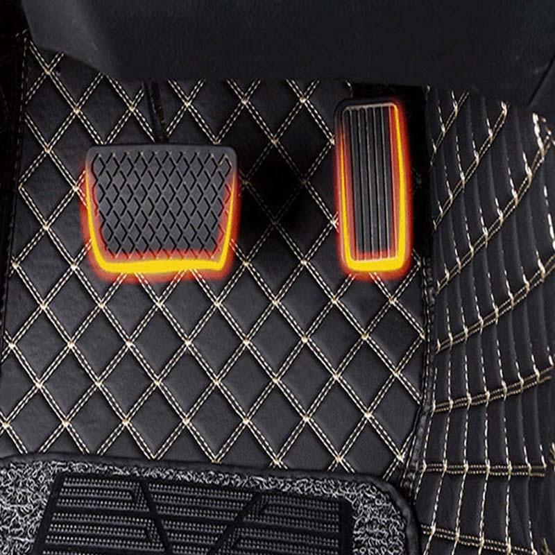 Auto car carpet foot floor mats For renault fluence laguna 2 3 kadjar scenic 2 3 logan sandero logan caputer kangoo car mats in Floor Mats from Automobiles Motorcycles
