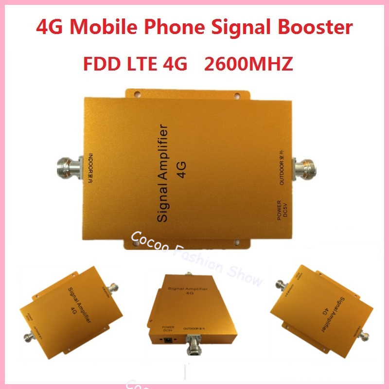 4G LTE 2600MHz Cell Phone Signal Repeater Amplifier Phonetone Manufacturer , high gain 65dbi mobile phone signal booster4G LTE 2600MHz Cell Phone Signal Repeater Amplifier Phonetone Manufacturer , high gain 65dbi mobile phone signal booster