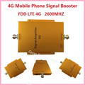 4G LTE 2600MHz Cell Phone Signal Repeater Amplifier Phonetone Manufacturer , high gain 65dbi mobile phone signal booster