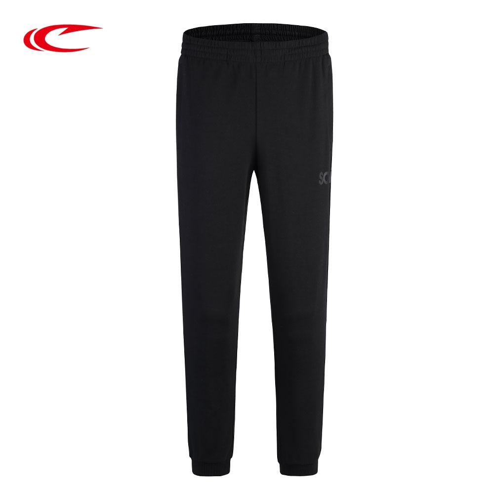 SAIQI 2018 Cotton Men Full Running Pants Comfort Elastic Cotton Mens Fitness Pants Skinny Sweatpants Trousers Jogger Pants 1226