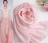 Bufanda de seda 100 de bufandas para mujer rosa claro estilo bitish verano delgada magia moda diseñador de la marca de seda del mantón de las bufandas de las borlas