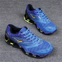 Mens professional sports running shoes male GYM breathable shockproof Marathon sneakers air zoom athletic shoes Wave Prophecy5
