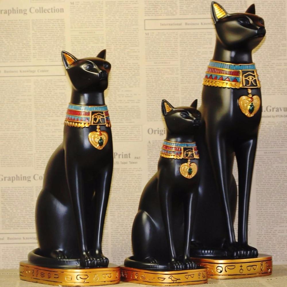Egypt moon goddess bastet incarnation crafts cat god for Home decor gifts