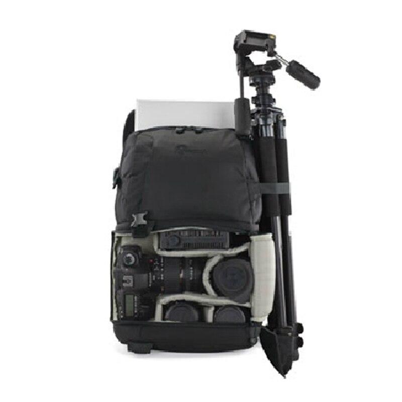"""Véritable Lowepro DSLR vidéo Fastpack 350 AW DVP 350aw sac photo reflex sac à bandoulière 17 """"ordinateur portable et couverture de pluie en gros-in Sacs pour appareil photo from Electronique    3"""