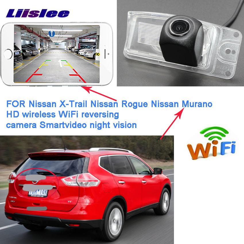 LiisLee wireless rear camera for nissan X-Trail X Trail Rogue T32 CCD Night Vision Backup camera license plate camera LiisLee wireless rear camera for nissan X-Trail X Trail Rogue T32 CCD Night Vision Backup camera license plate camera