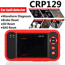 Vehemo OBDⅡ Launch CRP123 Car Fault Scanner Diagnostic Red Automove ABS SRS Tr