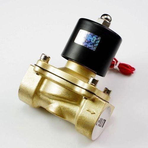 Высокое качество 2 шт. в лоте процесс Латунь Электромагнитный Клапан g1-1/2 ''2w400-40 110 В 50/ 60 Гц Напряжение катушки