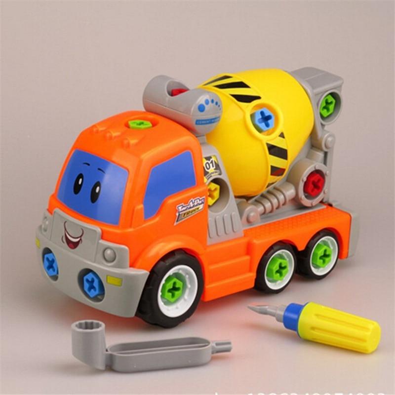 ของเล่นเด็กของเล่นเครื่องมือถอดชิ้นส่วนรถ B Rinquedos สกรูถอดเด็กรถคู่มือ - สมองของเล่นเด็กของเล่นเพื่อการศึกษา