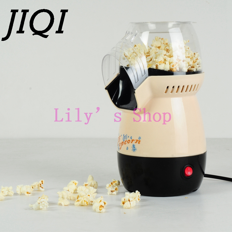 MINI Popcorn Maker Nostalgic Hot Air Popcorn Machine Household Popcorn Corn Popper Electric small popcorn makers gift EU US plug high quality commercial home hot selling domestic electric gas hot air popcorn maker popcorn machine