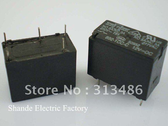 892 1CC C,5 pins Song Chuan Relay with POWERFUL SILVER ... Song Chuan Relays Wiring Schematic on