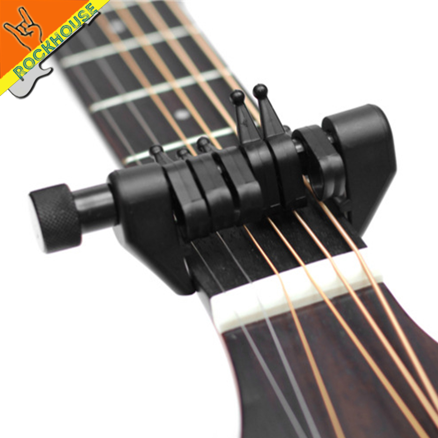 Acoustic Guitar Capo 6 Strings Change The KEY Of Each String Create Your Chords Free Shipping In Parts Accessories From Sports