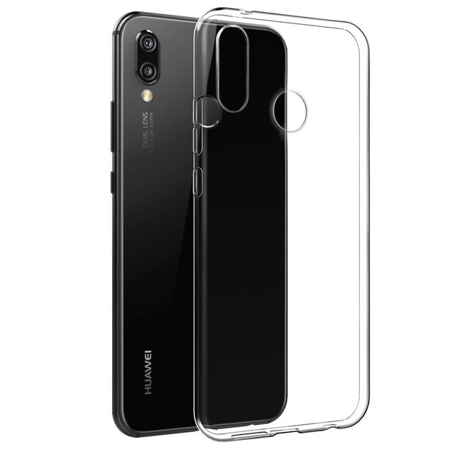 For Huawei P20 / P20 Pro Clear Soft Silicone TPU Crystal Slim Anti Slip Honor 10 Case Back Protector Cover for huawei P20 Lite