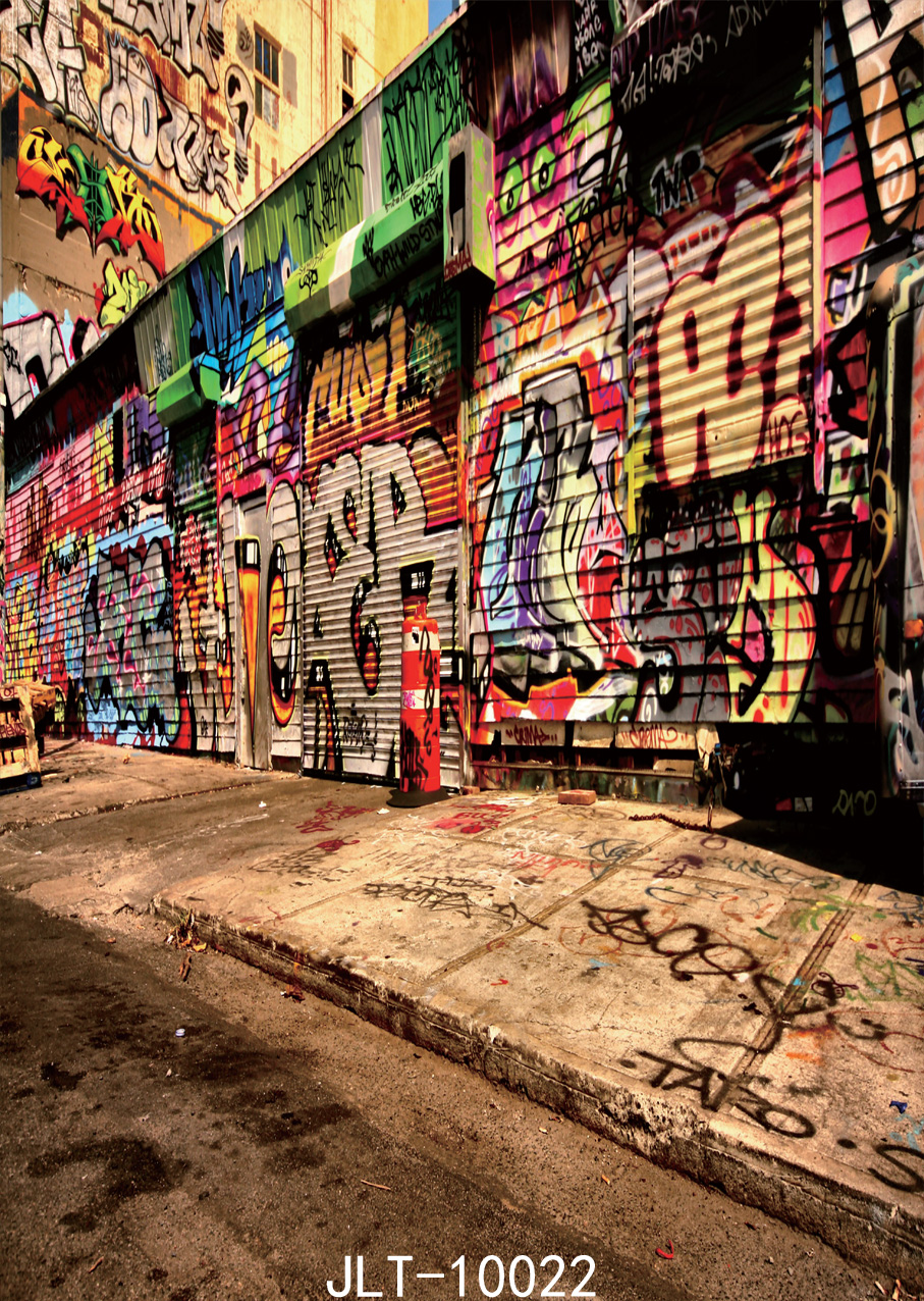 Graffiti wall vinyl - Wall Graffiti Photography Background Backgrounds For Photo Studio Background Photograph Vinyl Backdrops For Photography 5x7ft