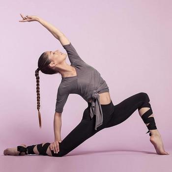 GERTU 2018 New Arrival Black Bandage Cross Leggings Women High Waist Fashion Sporting Pants Fitness Gymming Lady Capris Legging 4