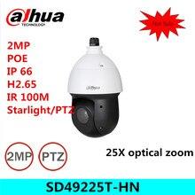 Dahua SD49225T-HN 2MP 25x Starlight IR PTZ Network Camera ,free DHL shipping