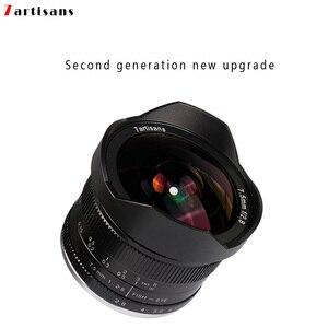 Image 2 - 7 artesanatos 7.5mm f2.8 lentes de peixe, 180 APS C lentes fixas manuais para e montagem canon EOS M mount fuji fx venda quente montagem frete grátis