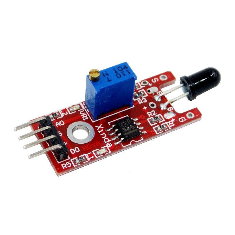 KY-026 Flame Sensor Module IR Sensor Detector For Temperature Detecting Suitable