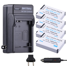 4Pcs EN-EL12 Battery + Charger Kits for Nikon COOLPIX S9900, A900, W300, S9300 S6300, S9200, AW120, AW130, S9700, KeyMission 360