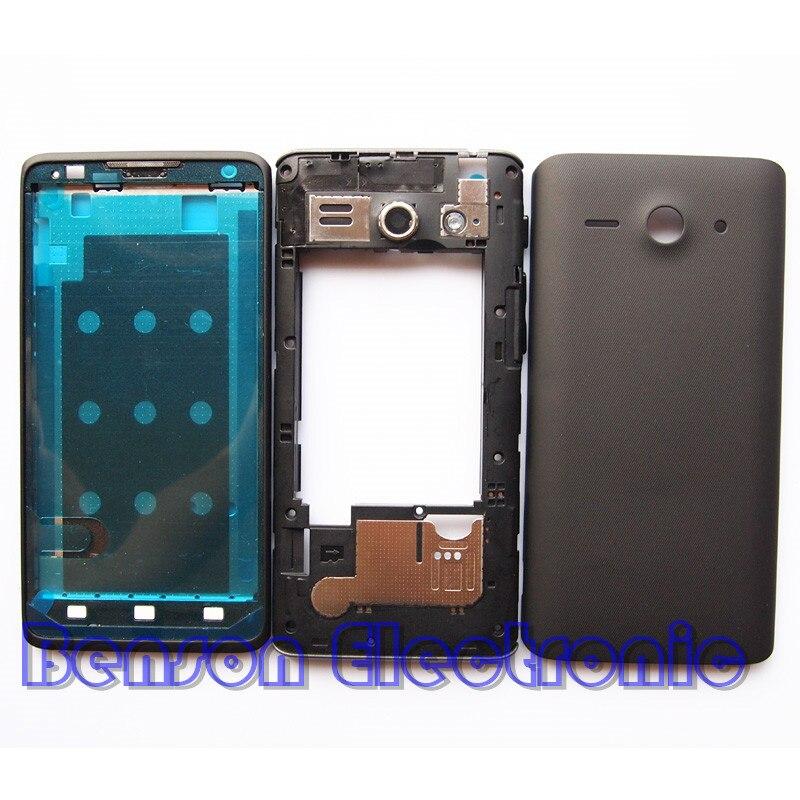 bilder für BaanSam Neue LCD Halter Frontrahmen Mittleren Frame Batterie Rückseitige Abdeckung Für Huawei Y530 Gehäuse Mit Power Lautstärketaste + antenne