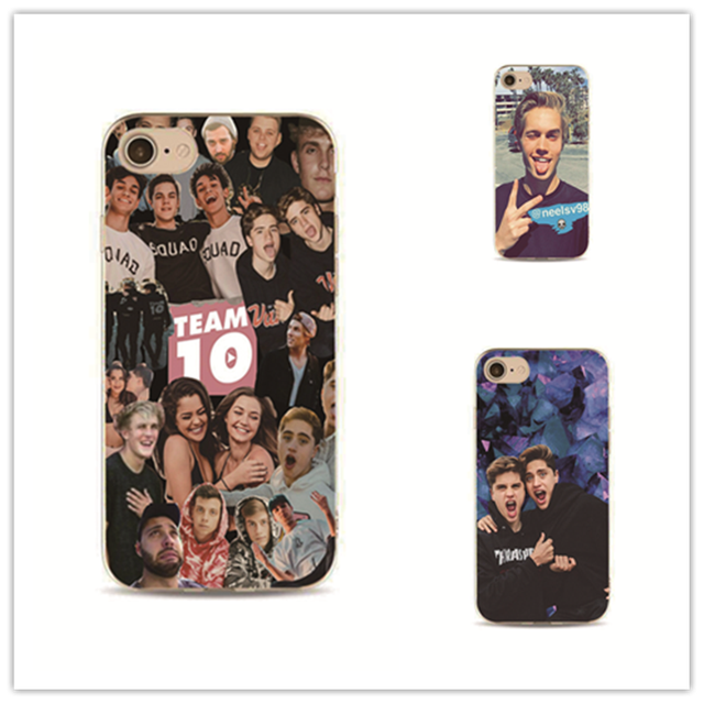 Case Paul celebrity jake paul phone case for iphone 7 plus apple 4 4s 5 5s 5c