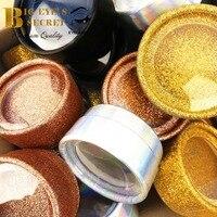 Customize round case logo 50 pcs strip lashes cases luxury professional big eyes secret boxes free shipping