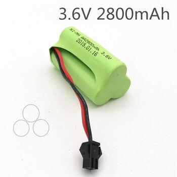Batería de 3,6 v 2800mah ni-mh batería 3,6 v batería nimh pilas recargables 3,6 v paquete Tamaño AA ni mh para rc coche de juguete de herramientas modelo