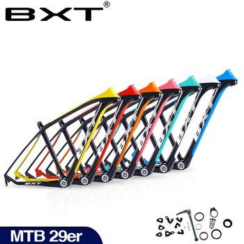 2019 BXT brand T800 carbon mtb frame 29er mtb carbon frame 29 carbon mountain bike frame 142*12 or 135*9mm bicycle frame 1