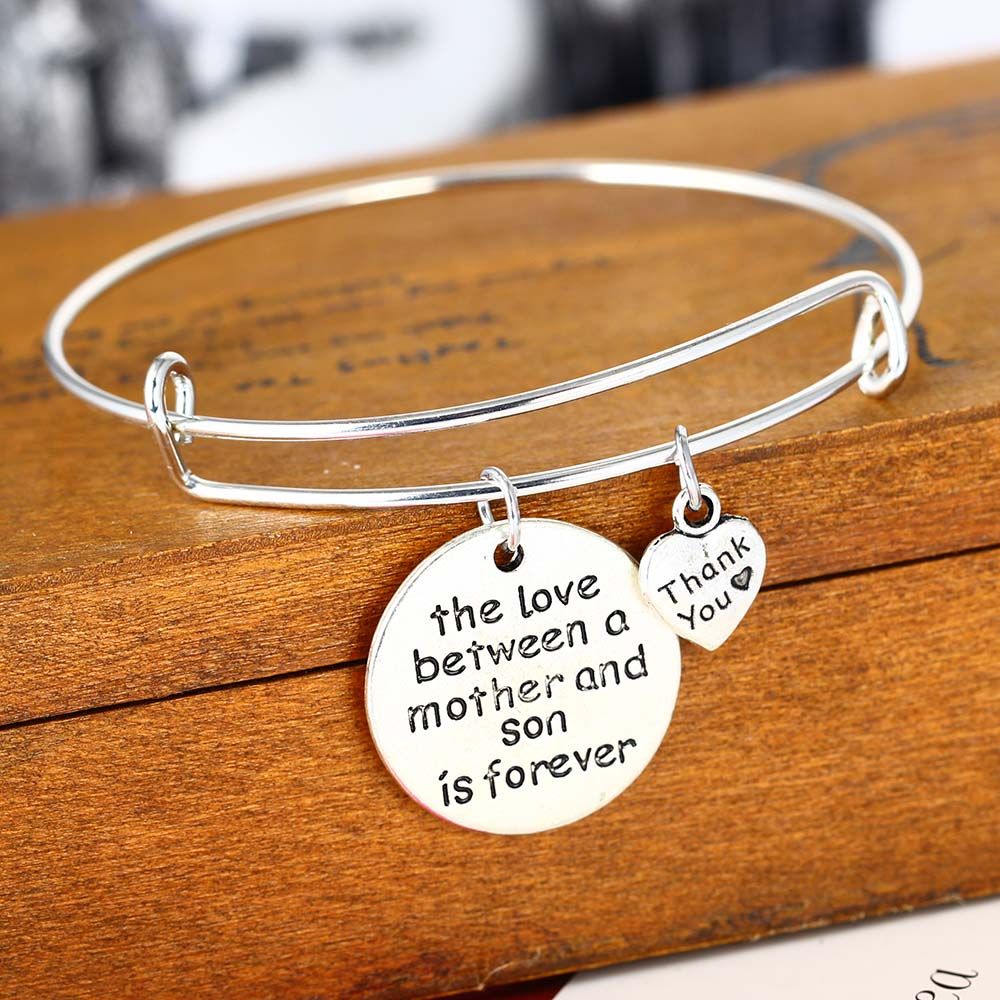 mother mom daughter by product lovethelinks bracelet message and original bangle bangles