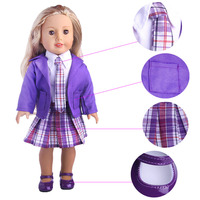 Fashion 5 Suit Suits For 18 Inch American Girl Doll Children The Best Christmas Gift