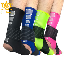 Cn Herb 2 pcs bandage compression Wrist Ankle socks outdoor basketball football mountaineering body-building
