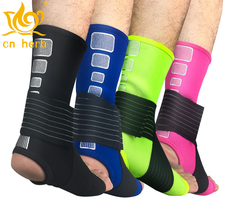Cn Herb 2 pcs bandage compression Wrist Ankle compression socks outdoor basketball football mountaineering body-building