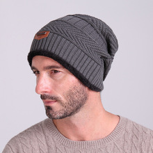 NUZADA New Winter Beanies Men Knitted Hat Bonnet Warm Caps Baggy Winter Hats For Men Women Skullies Beanies Hats wool cotton hat цена в Москве и Питере