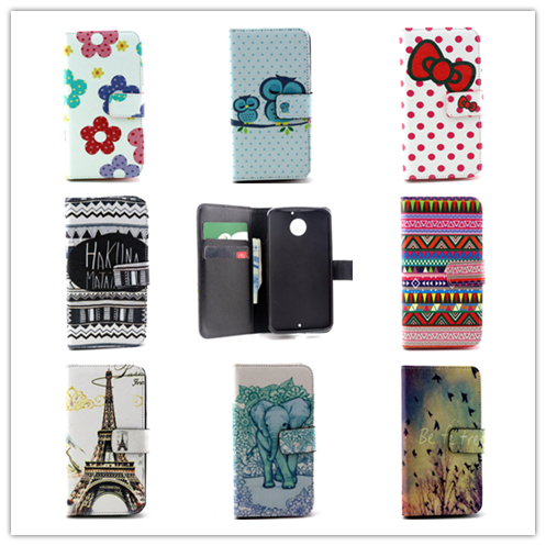 2015 New Wallet Flip Magnetic Stand PU Leather Mobile Phone Bags Motorola Moto X 2014 2nd Gen X2 X+1 XT1097 - Apbest Trading Ltd. store
