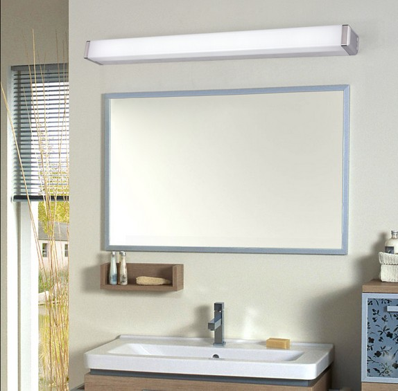 Simple modern wall sconce waterproof waterproof fog for Contemporary bathroom wall sconces