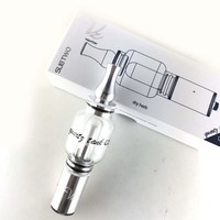 Sub Two Q2 Water Pipe Electronic Cigarette Dry Herb Atomizer Glass Tank Replaceable Vaporizer Vape Pendry