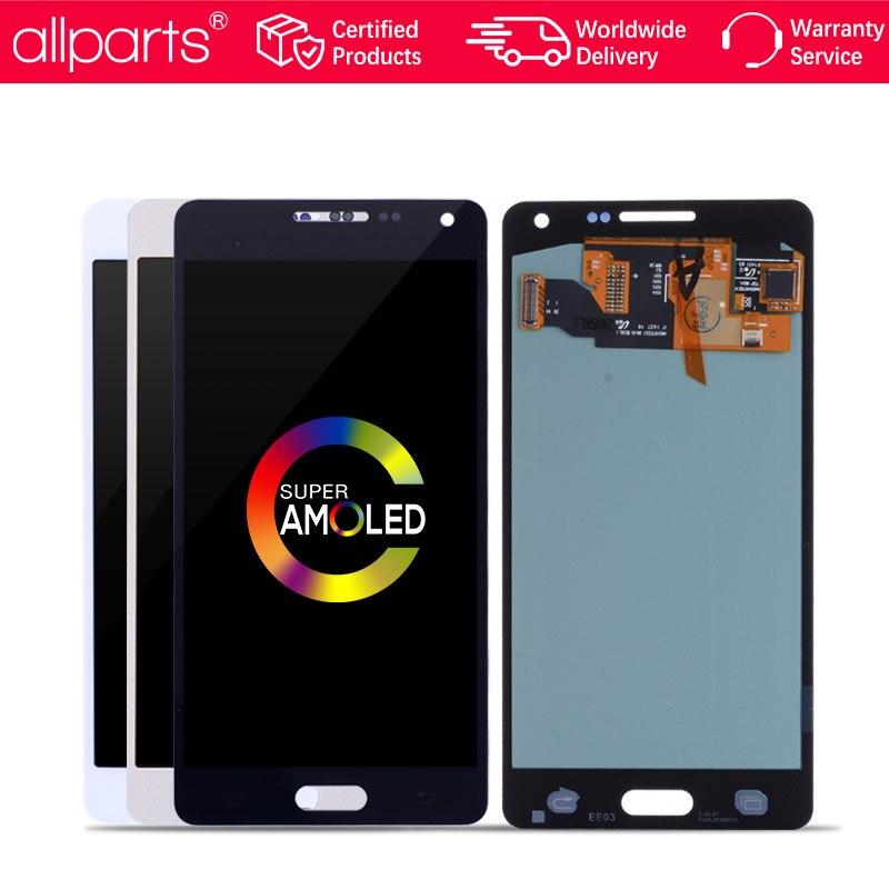 AMOLED NUEVO Original pantalla para SAMSUNG Galaxy A5 2015 LCD Tactil Completa Display táctil Écran para SAMSUNG Galaxy A5 2015 A500FU A500 A500F A500M pantalla LCD con marco Digitalizador reemplazo