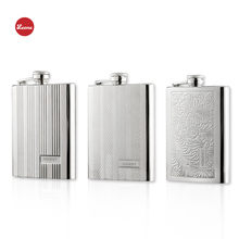 ФОТО hot 8oz exquisite embossed stainless steel hip flask wine pot my liquor whisky alcohol vodka alcohol portable outdoor flagon