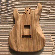 Unfinished DIY Guitar Body Maple Body For ST Style Guitar ST electric guitar body alderwood guitar DIY accessory(China)