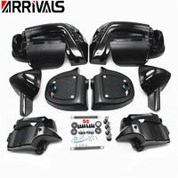 Painted ABS Lower Leg Vented Fairing For Harley Touring Models Street Electra Glide Road King FLT FLHT FLHRC 1983 2013