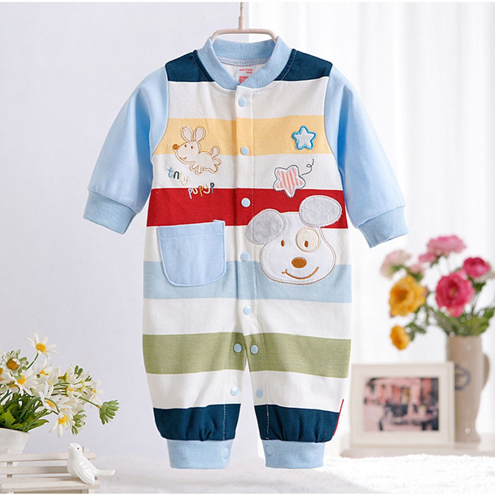 2016-New-Autumn-Newborn-Baby-Girls-Boy-Stripe-Rompers-One-Pieces-Long-Sleeve-Jumpsuits-Clothing-0-12months-CL0882 (1)