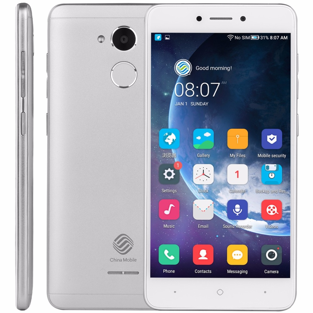 China Mobile A3S M653 2G 16G Android 7.0 OS Gioco negozio rusisan Snapdragon 425 Quad-Core Dual SIM Smart Phone chinamobile A3S