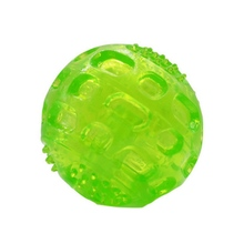 Pet Toys Leakage Food Ball Pure Natural Imported Rubber Dog Transparent Teeth To Bite Playing Goods For Dogs