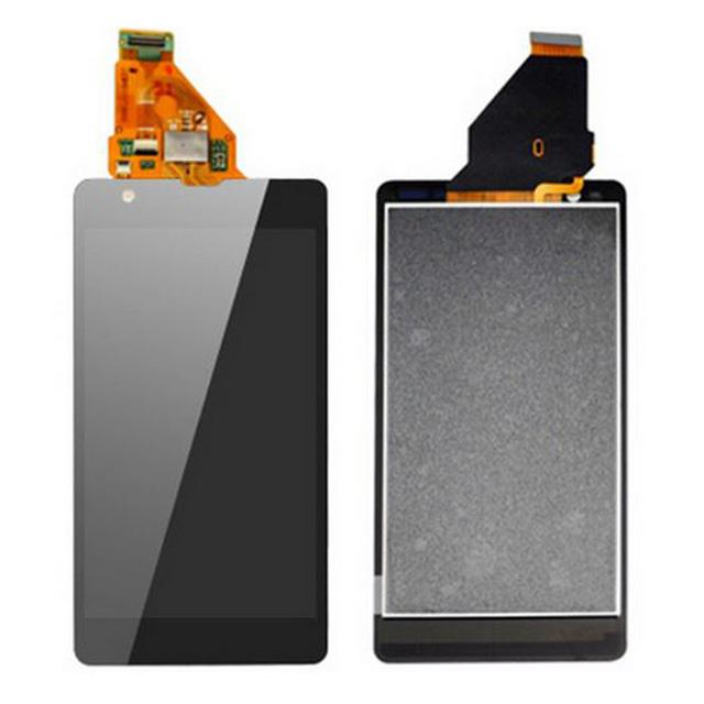 Para sony xperia zr m36h c5503 c5502 display lcd com tela de toque digitador assembléia frete grátis