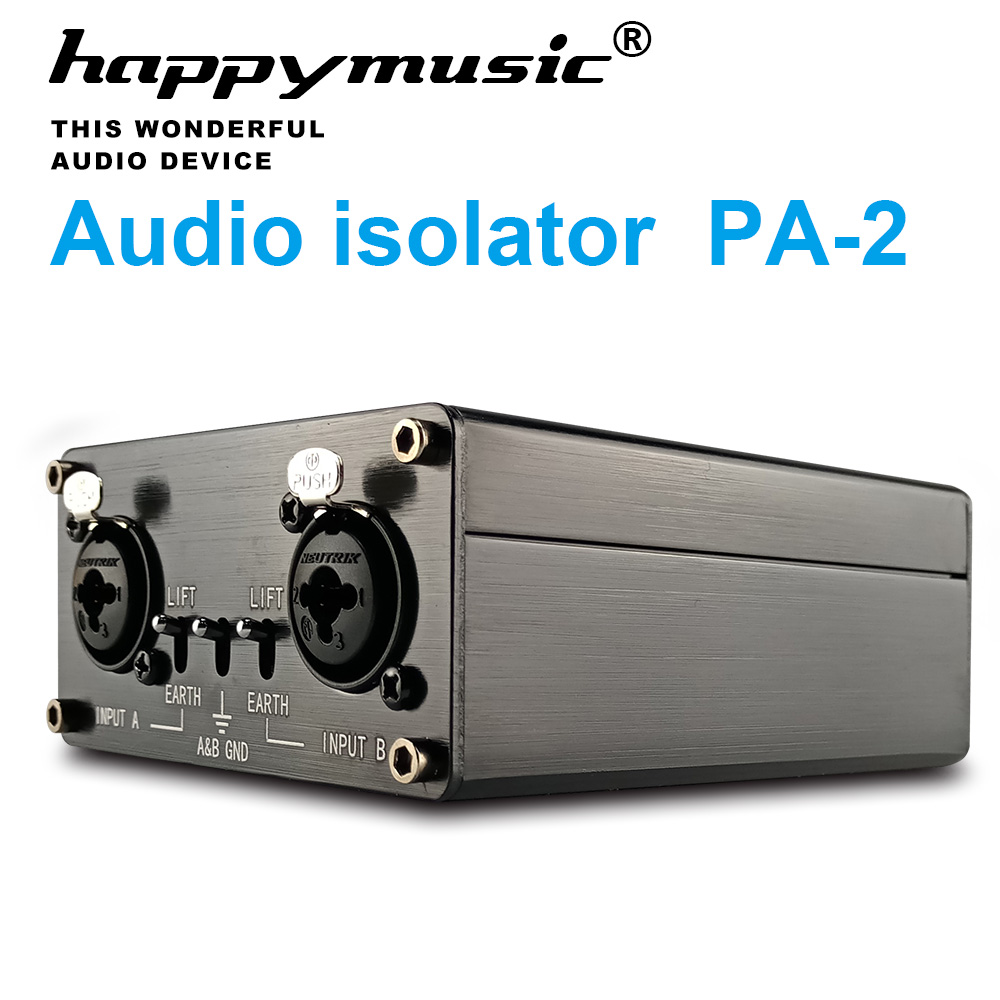 Professional Stage HD Audio Signal Full Isolation Asynchronous Hi-Fi Audio Decoder Premium Signal Repeater Amplifier Isolator