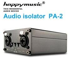 Señal de Audio profesional HD para escenario, decodificador de Audio de alta fidelidad asíncrono de aislamiento completo, aislador de repetidor de señal amplificador Premium